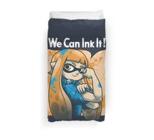 We Can Ink It! Duvet Cover
