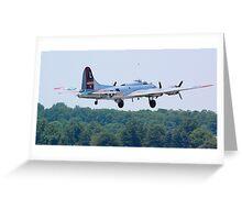 B-17 Yankee Lady Greeting Card