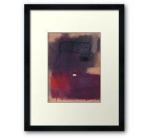 Red Earth. Framed Print