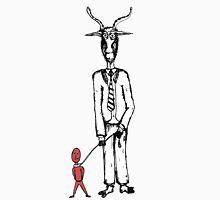 Goat Man B/W Unisex T-Shirt