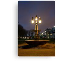 Greenwich fountain Canvas Print