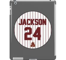 Retro Reggie Jackson Arizona State University Jersey iPad Case/Skin