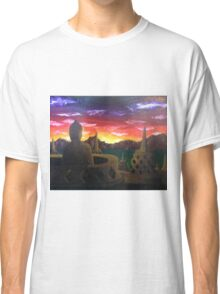 Indonesian Sunset Classic T-Shirt