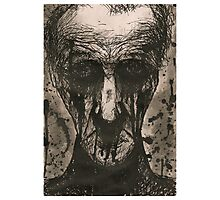 Ink Face Photographic Print