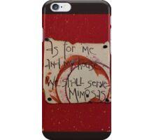 Serve Mimosas iPhone Case/Skin