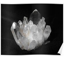 Quartz Crystals Poster