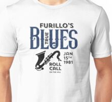 Furillo's True Blues Roll Call Unisex T-Shirt
