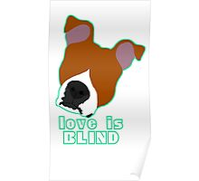Love is Blind brown Poster