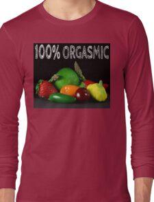 100% Orgasmic Long Sleeve T-Shirt