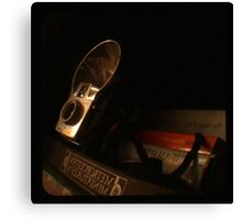 Old Books and Camera- TTV Canvas Print