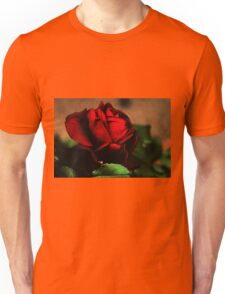 Blood Red Rose Unisex T-Shirt