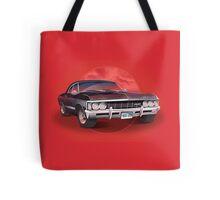 1967 Chevorlet Impala - Supernatural TV SHow Tote Bag