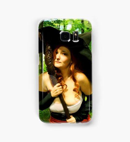 Sorceress - Forest Magic Samsung Galaxy Case/Skin