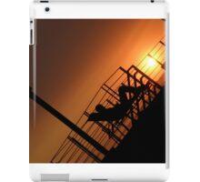 Lounging at sunset iPad Case/Skin