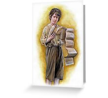 Bilbo Greeting Card