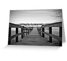 lake front Greeting Card