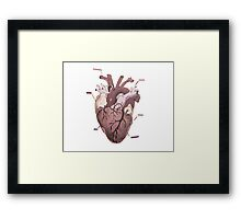 Chloe Price Heart Design  Framed Print
