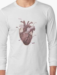 Chloe Price Heart Design  Long Sleeve T-Shirt