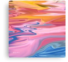 Untitled Abstract 105-  Art + Products Design  Canvas Print