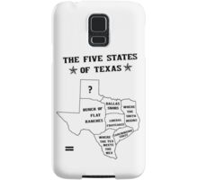 The 5 States of Texas Samsung Galaxy Case/Skin