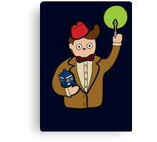 When I grow up I want to be The Doctor Canvas Print