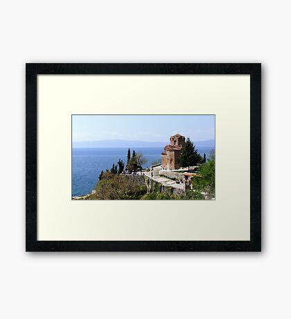 an incredible Macedonia landscape Framed Print