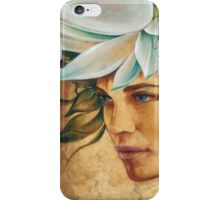 Queen of the Lotus Land iPhone Case/Skin