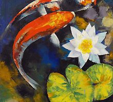 Koi Art by Michael Creese