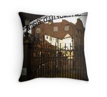 beauty at the brewery Throw Pillow
