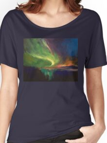 Aurora Borealis Women's Relaxed Fit T-Shirt