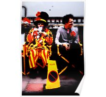 Undercover clown Poster