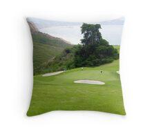 Torrey Pines Golf Course ~ La Jolla, California Throw Pillow