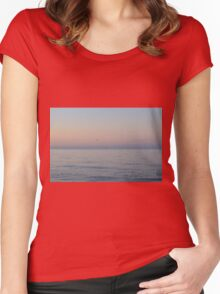 Sunrise Ocean Women's Fitted Scoop T-Shirt