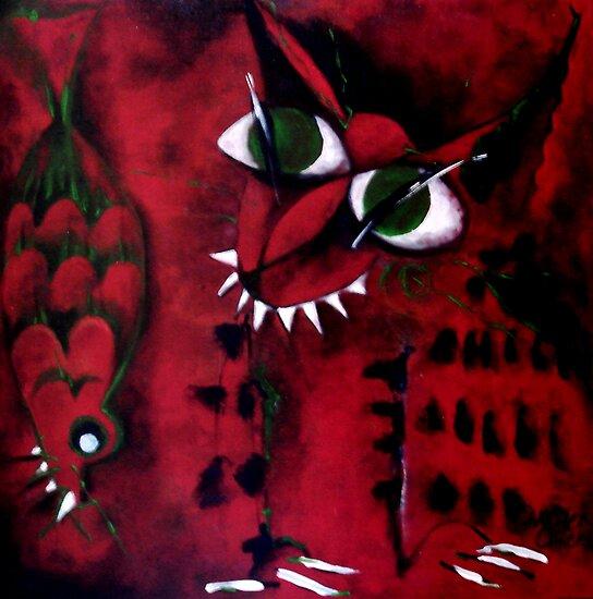 Zorro & Snapper by Carmen  Cilliers
