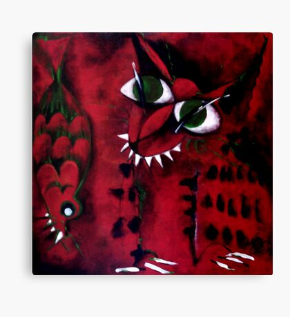 Zorro & Snapper Canvas Print