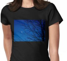 Night sky ^ Womens Fitted T-Shirt