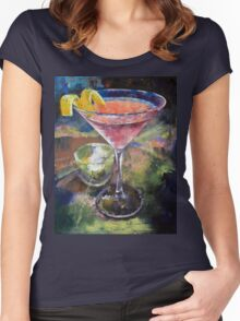 Martini Women's Fitted Scoop T-Shirt