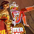 Fremont Street  Las Vegas Nevada USA by RichardKlos