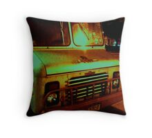 Truck Lower East Side, NYC Throw Pillow
