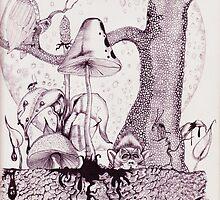 The Broken Mind Of Joe's Ink by joesinkart