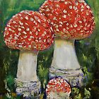 Mushrooms by Michael Creese