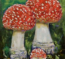 Magic Mushrooms by Michael Creese