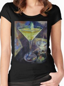 Appletini Women's Fitted Scoop T-Shirt