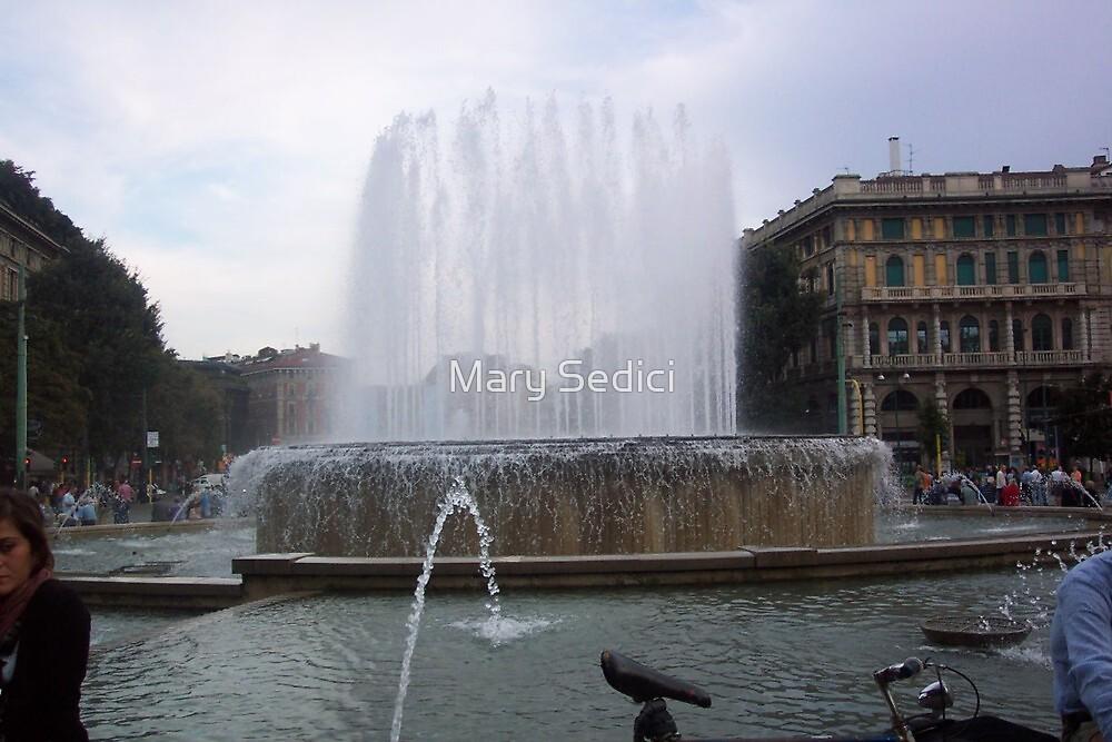 Fountain   by Mary Sedici