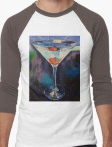 Bombay Sapphire Martini Men's Baseball ¾ T-Shirt