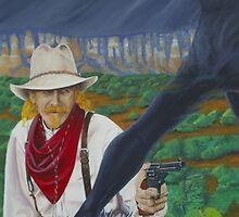 Cowboy Up! by ArtGecko