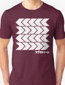 Splatoon Takoroka Red Vector Tee T-Shirt
