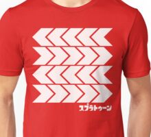 Splatoon Takoroka Red Vector Tee Unisex T-Shirt