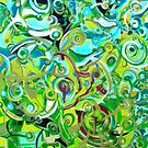 ANAHATA - energies open within me - by whittyart
