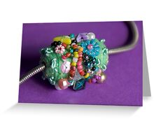 bead#5 Greeting Card